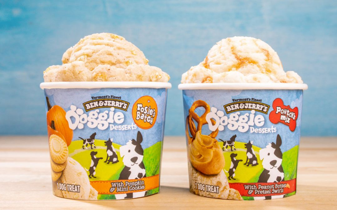 Ben & Jerry's Launches New Ice Cream Desserts for Your Dog