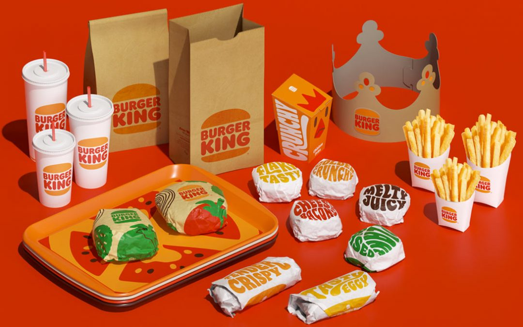 Burger King Does its First Complete Rebrand in Over 20 Years