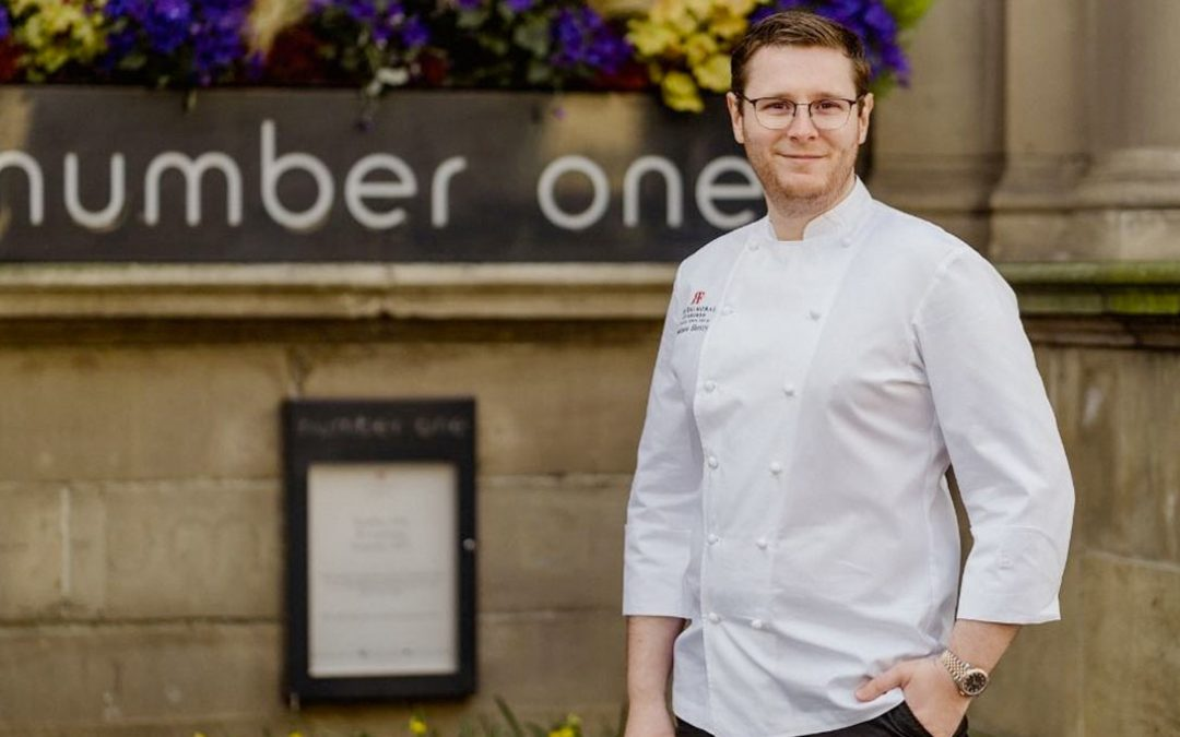 The Balmoral Appoints Mathew Sherry as Head Chef Of Michelin-Starred Number One Restaurant