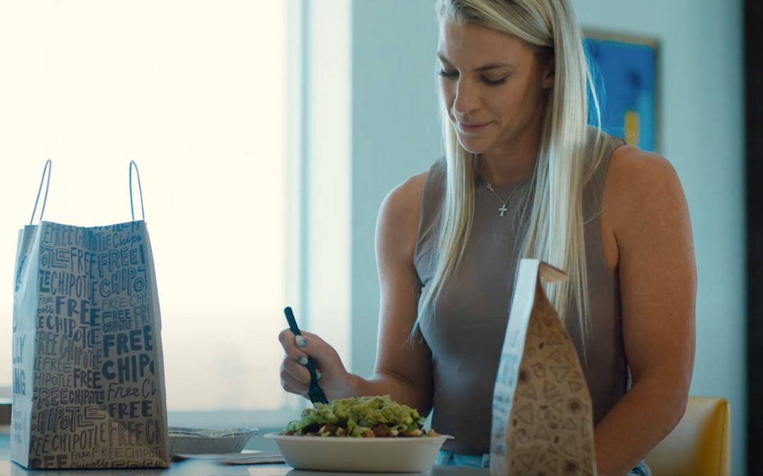 Chipotle Campaign Celebrates Athletes With Specialized 'Team Chipotle' Meals